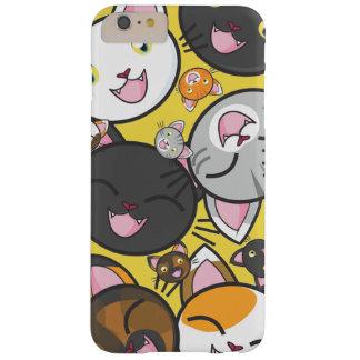 Les masses de cas de téléphone de Kitty Coque iPhone 6 Plus Barely There