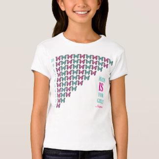 Les maths personnalisées sont pour des filles, t-shirt