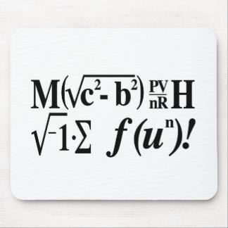 Les maths sont amusement ! tapis de souris