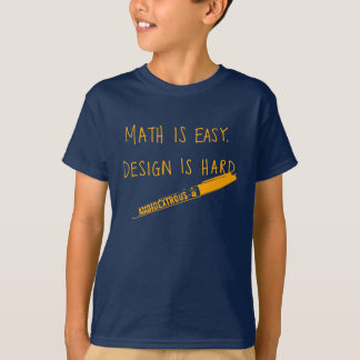 Les maths sont faciles, badinent t-shirt