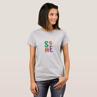 Les médias sociaux de typographie refroidissent la t-shirt