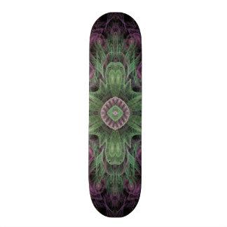 Les méduses électriques abstraites refroidissent l skateboards personnalisables