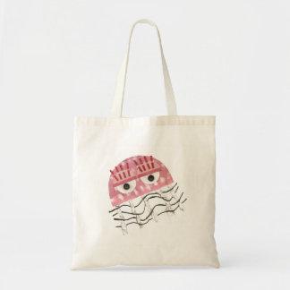 Les méduses ne peignent aucun sac d'arrière - plan
