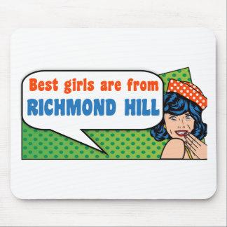 Les meilleures filles sont de colline de Richmond Tapis De Souris