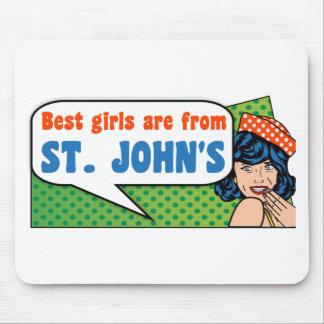 Les meilleures filles sont de St John Tapis De Souris