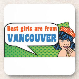 Les meilleures filles sont de Vancouver Dessous-de-verre