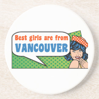 Les meilleures filles sont de Vancouver Dessous De Verres