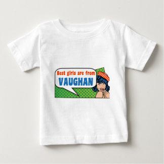 Les meilleures filles sont de Vaughan T-shirt Pour Bébé
