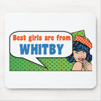 Les meilleures filles sont de Whitby Tapis De Souris
