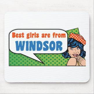 Les meilleures filles sont de Windsor Tapis De Souris