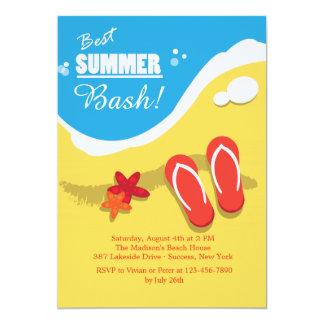 Les meilleures invitations de partie d'été