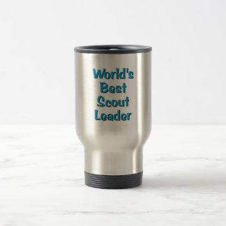 Les meilleures marchandises de chef du scout du mug de voyage