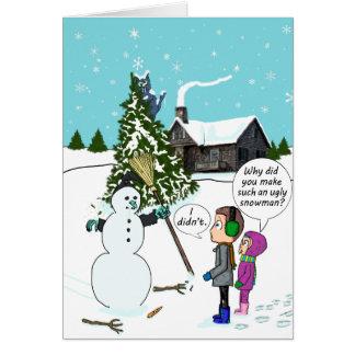 Les meilleures sorcières de bonhomme de neige de cartes