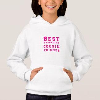 Les meilleurs amis de déplacement de cousin - rose