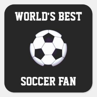 Les meilleurs autocollants de carré du fan de foot