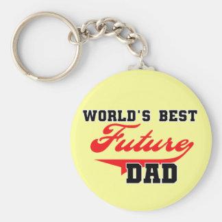 Les meilleurs futurs T-shirts et cadeaux du papa d Porte-clé Rond
