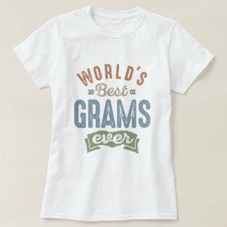 Les meilleurs grammes t-shirt