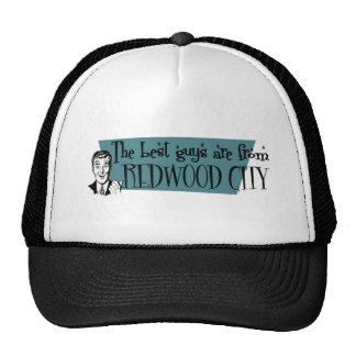 Les meilleurs types sont de Redwood City Casquettes De Camionneur