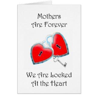 Les mères sont pour toujours carte de voeux