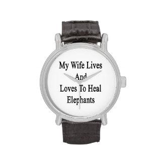Les mes vies et amours d'épouse pour guérir des montres