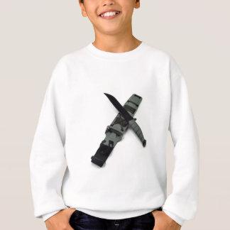 les militaires combattent le style de ka-barre de sweatshirt