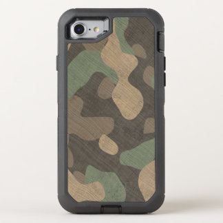 Les militaires de région boisée de téléphone coque OtterBox defender iPhone 8/7