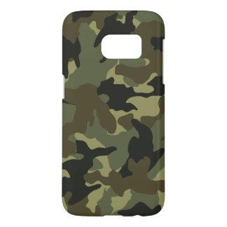 Les militaires kaki de Camo camouflent des cas de Coque Samsung Galaxy S7