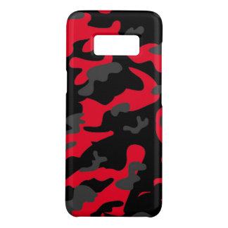 Les militaires noirs rouges d'armée de Como de Coque Case-Mate Samsung Galaxy S8
