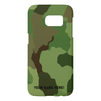 Les militaires traditionnels camouflent coque samsung galaxy s7