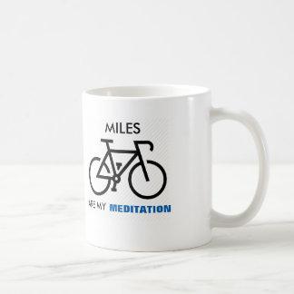 Les milles sont ma méditation mug