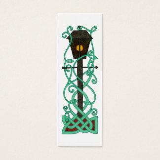 Les mini-signets de lampadaire mini carte de visite