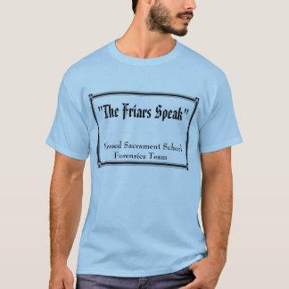 """""""Les moines parlent"""", sacrement béni T-shirt"""