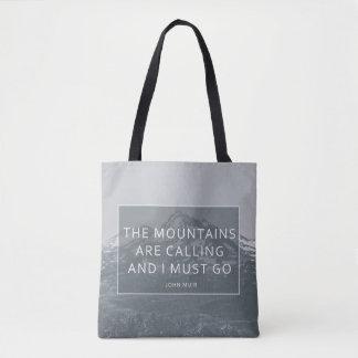 Les montagnes appellent le sac fourre-tout