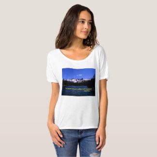 Les montagnes appellent t-shirt