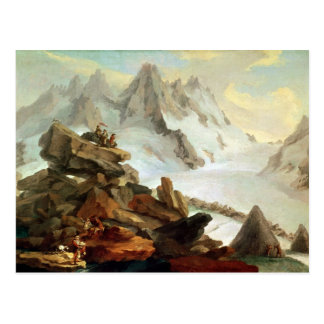 Les montagnes chez Lauteraar, 1776 Carte Postale