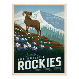 Les montagnes rocheuses | le Colorado Carte Postale