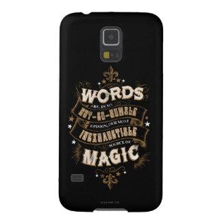 Les mots du charme | de Harry Potter sont notre la Protections Galaxy S5