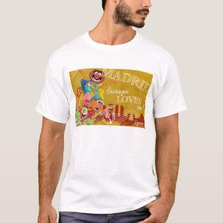 Les Muppets - affiche de Madrid, Espagne T-shirt