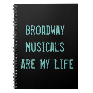 Les musicaux de Broadway sont mon journal de la