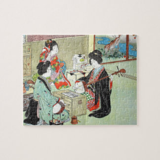Les musiciens - puzzle japonais de collection de