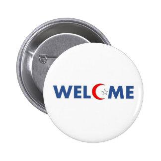 Les musulmans souhaitent la bienvenue aux badges
