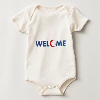 Les musulmans souhaitent la bienvenue ici body