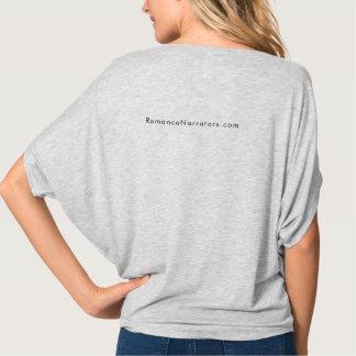 Les narrateurs donnent la bonne chemise grise t-shirt