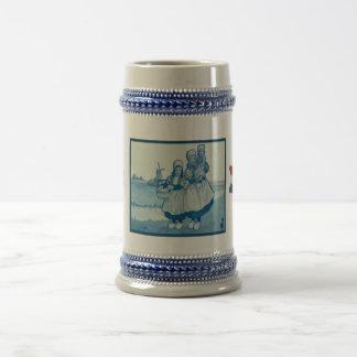 Les Néerlandais vintages conçoivent, 1905, famille Tasse