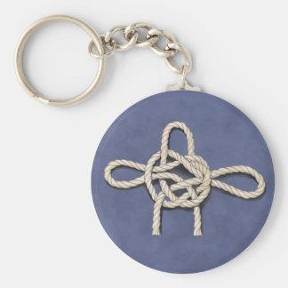 Les noeuds des marins porte-clé rond