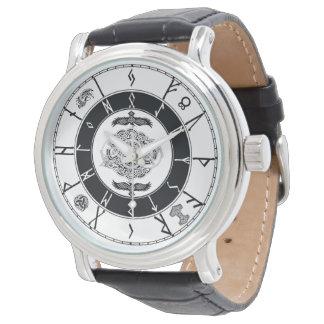 Les norses dénomment la montre runique ......