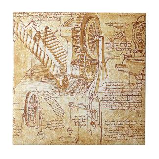 Les notes de da Vinci Carreau