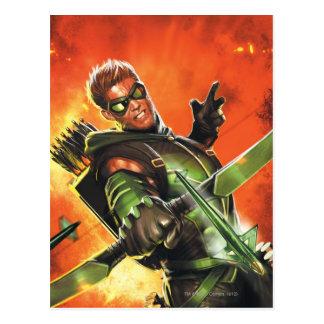 Les nouveaux 52 - la flèche verte #1 carte postale