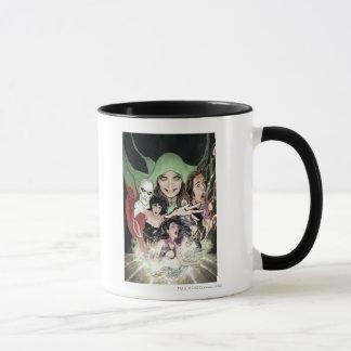 Les nouveaux 52 - ligue de justice #1 foncé mug