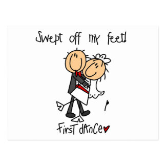 Les nouveaux mariés dansent d'abord des T-shirts e Cartes Postales